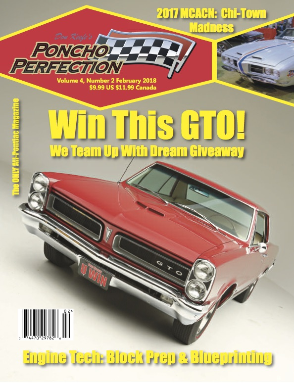 Whats new at nitemare performance poncho perfections february 2018 issue features a 7 page tech story documenting how nitemare performance blueprints a pontiac engine block for use in a malvernweather Images